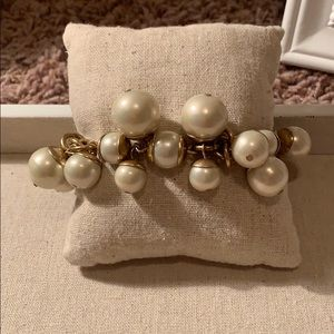 Stella and dot, chunky pearl  Bracelet